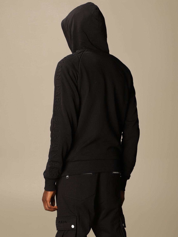 Sweatshirt Balmain: Sweatshirt herren Balmain schwarz 3