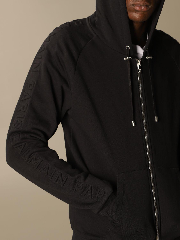 Sweatshirt Balmain: Sweatshirt herren Balmain schwarz 5