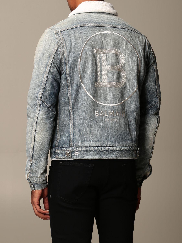 Jacket Balmain: Jacket men Balmain denim 2