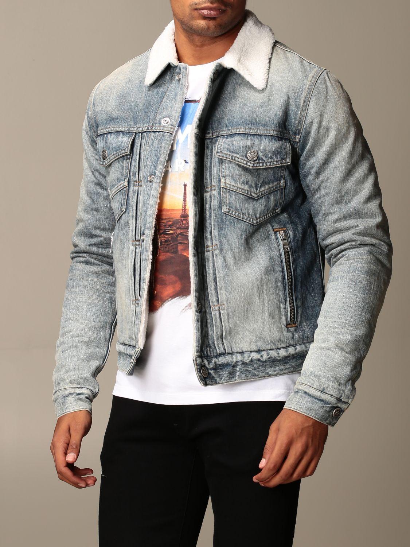 Jacket Balmain: Jacket men Balmain denim 3