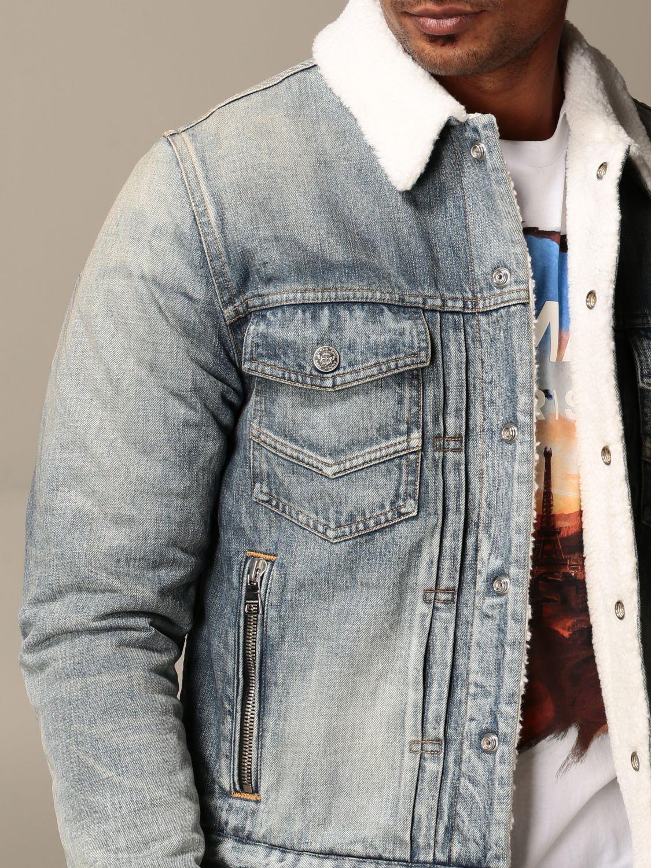 Jacket Balmain: Jacket men Balmain denim 4