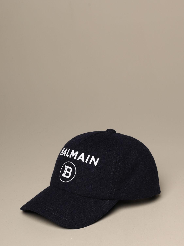 Hut Balmain: Hut herren Balmain blau 1