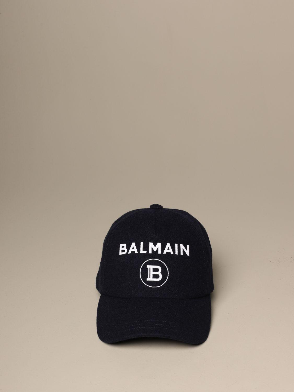 Hut Balmain: Hut herren Balmain blau 2