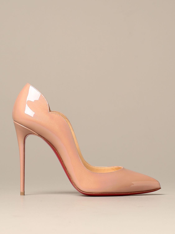 Court shoes Christian Louboutin: Shoes women Christian Louboutin nude 1