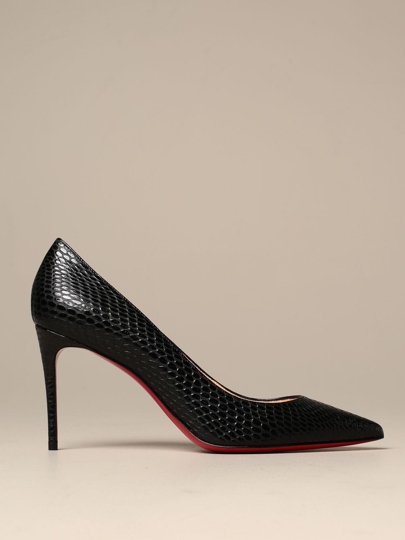chaussure louboutin noir femme