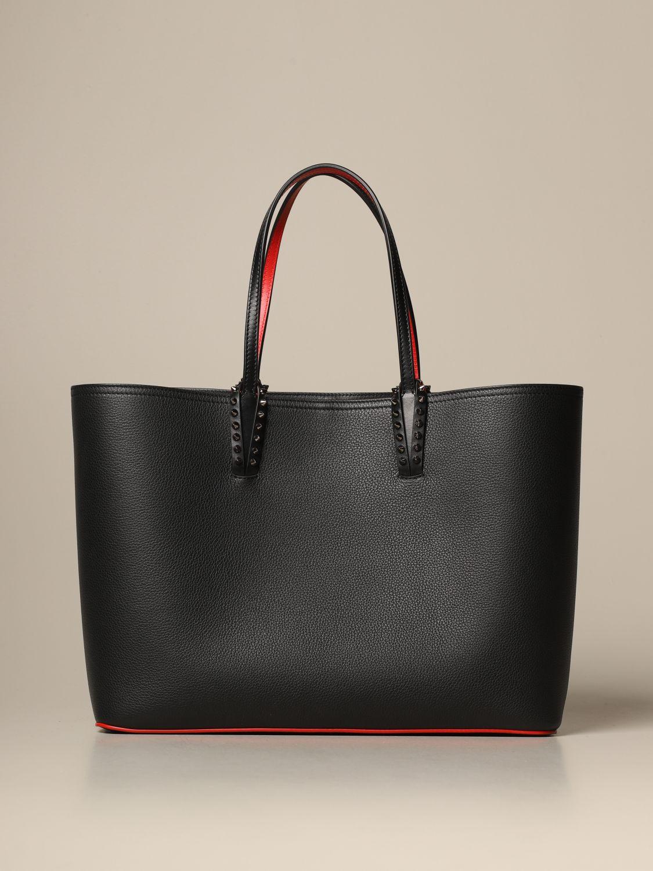 Tote bags Christian Louboutin: Shoulder bag women Christian Louboutin black 1