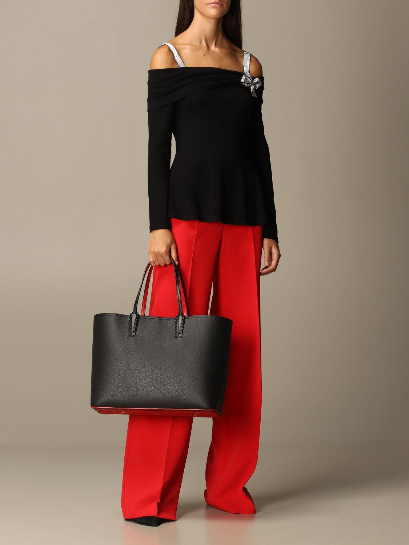 Tote bags Christian Louboutin: Shoulder bag women Christian Louboutin black 2