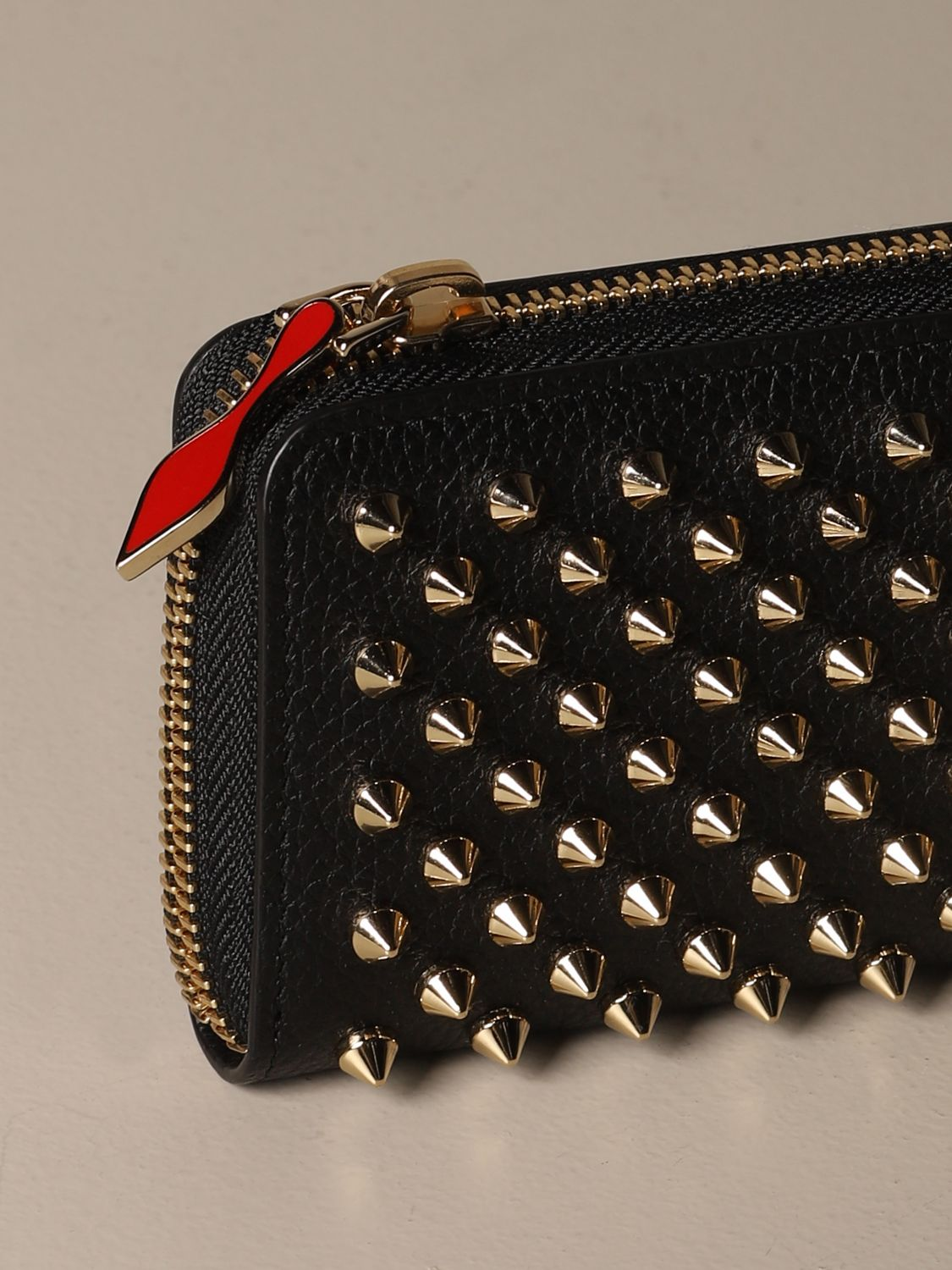 Wallet Christian Louboutin: Wallet women Christian Louboutin black 4