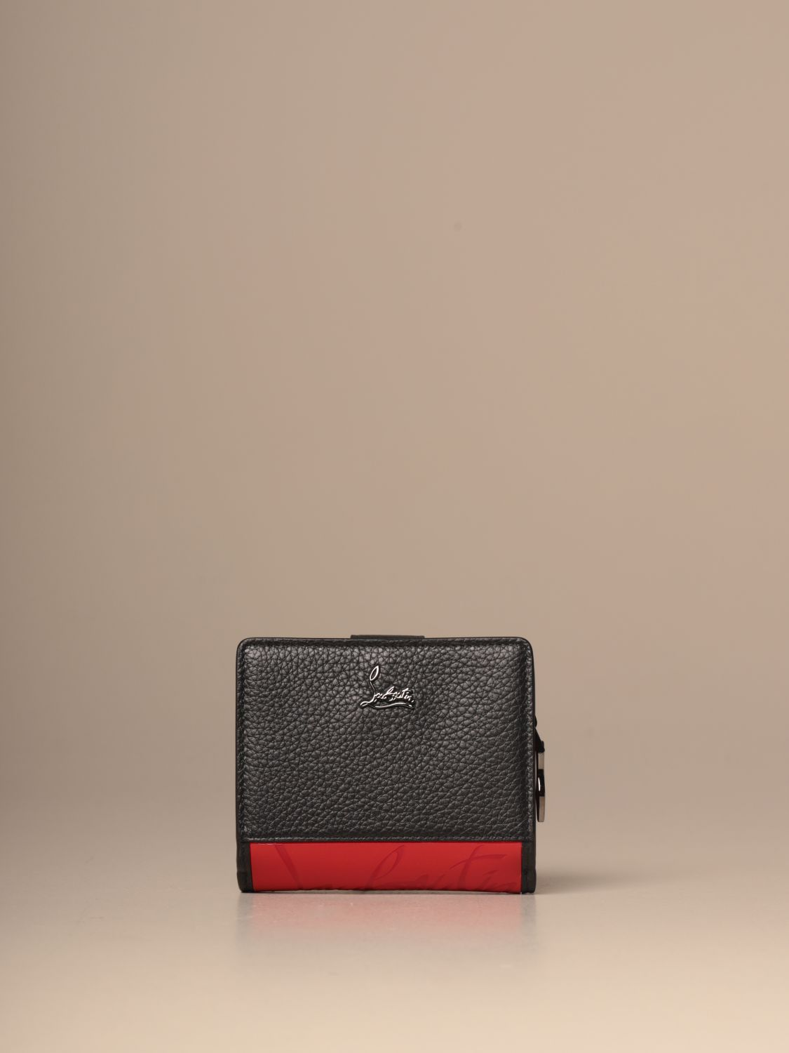Wallet Christian Louboutin: Wallet women Christian Louboutin black 3