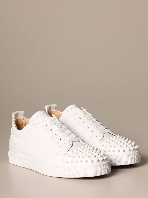 运动鞋 Christian Louboutin: 鞋 男士 Christian Louboutin 白色 2