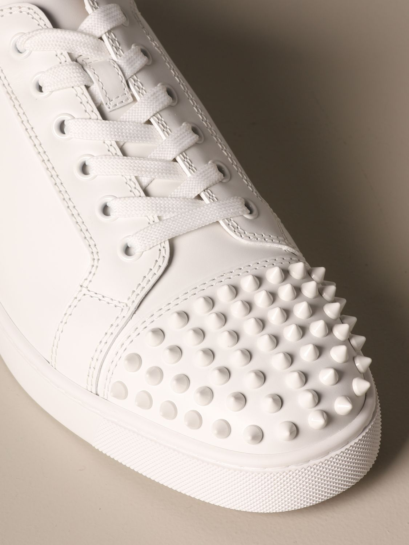 运动鞋 Christian Louboutin: 鞋 男士 Christian Louboutin 白色 4