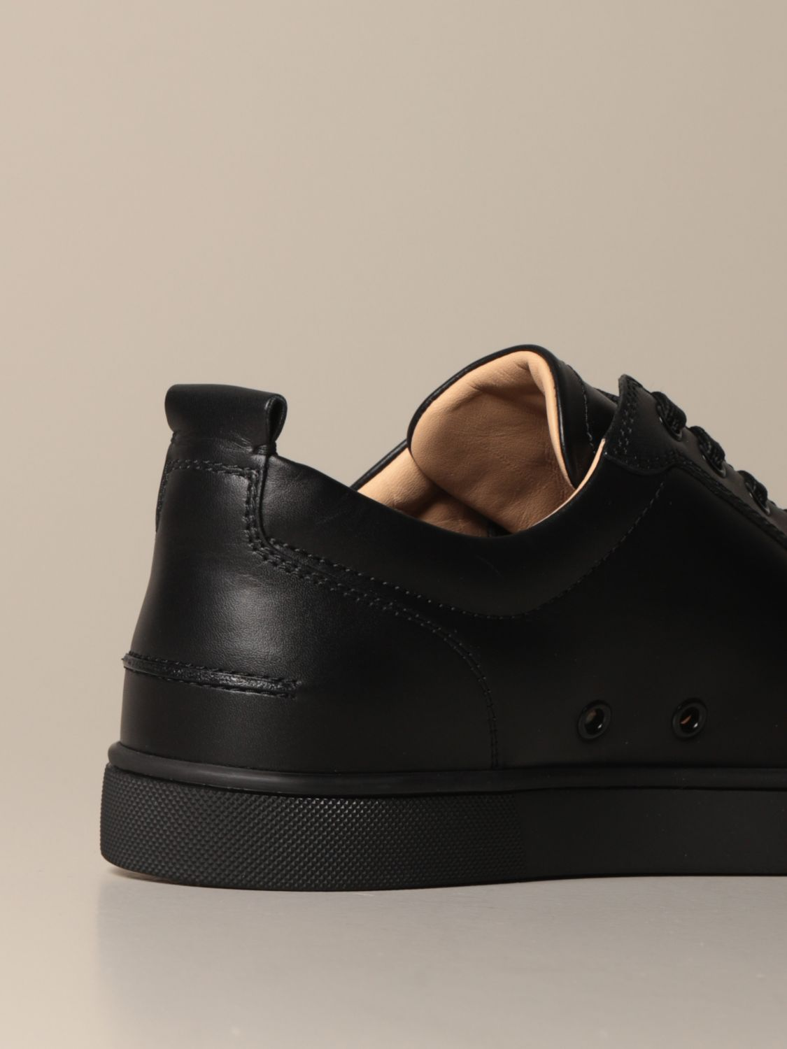 Sneakers Christian Louboutin: Christian Louboutin Louis Junior sneakers in studded leather black 3