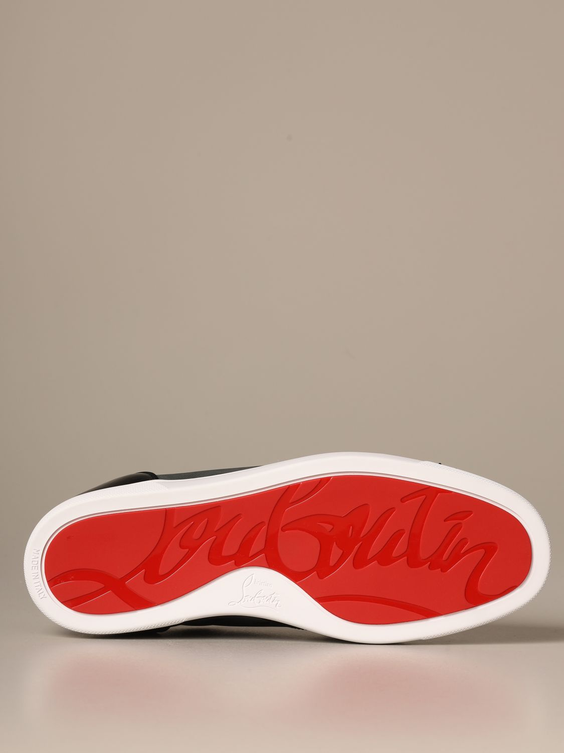 louboutin chaussure homme rouge