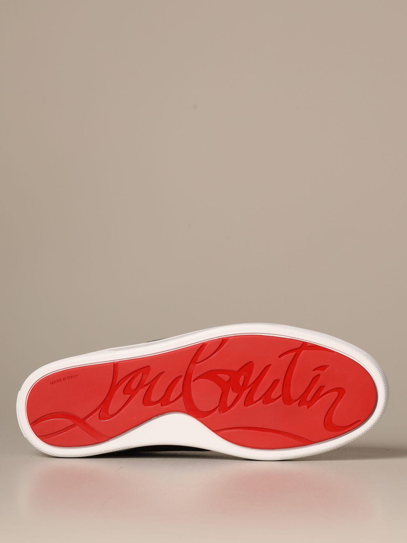 运动鞋 Christian Louboutin: 鞋 男士 Christian Louboutin 黑色 5