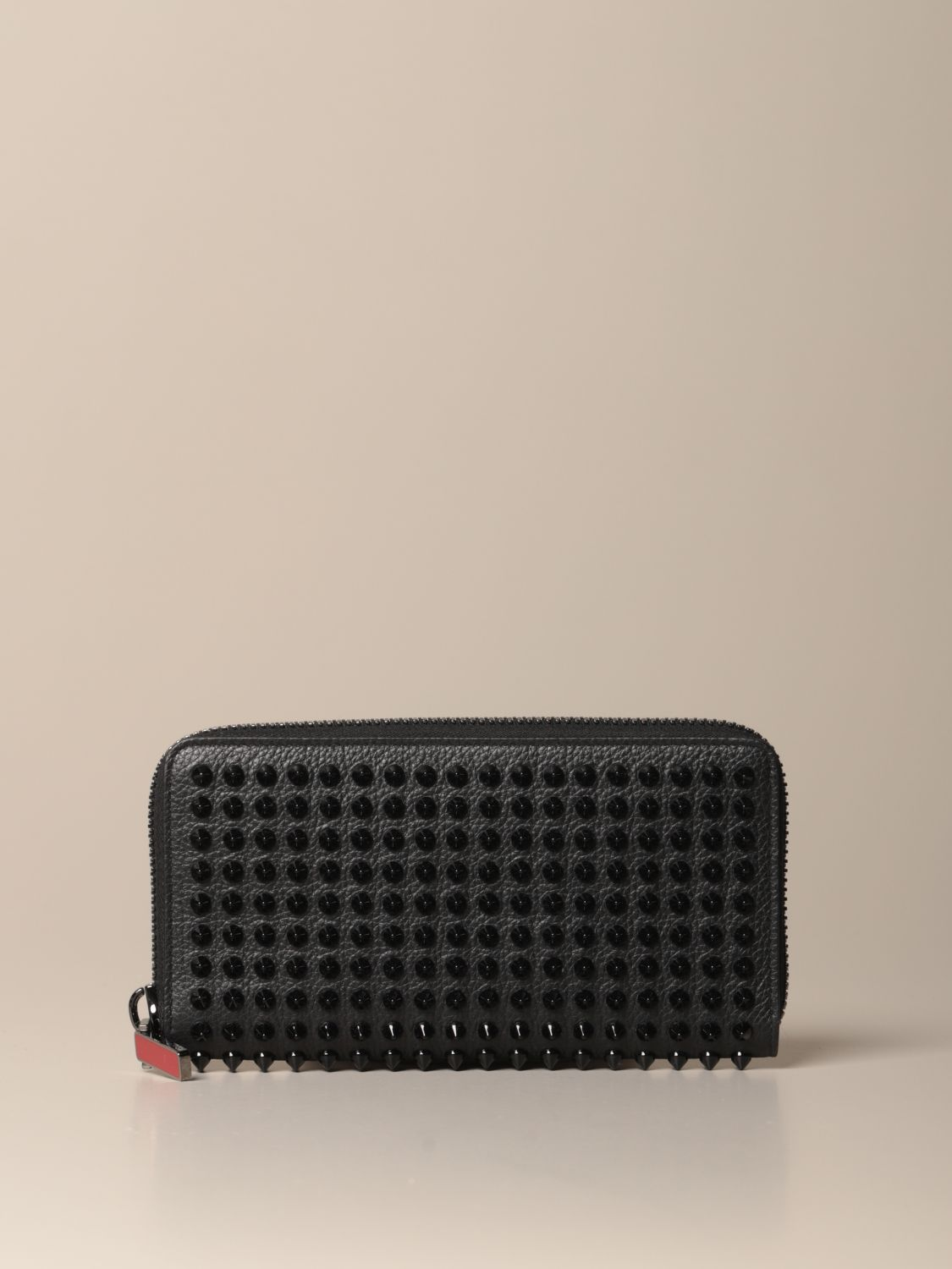 Wallet Christian Louboutin: Panettone Christian Louboutin wallet with all over studs black 1