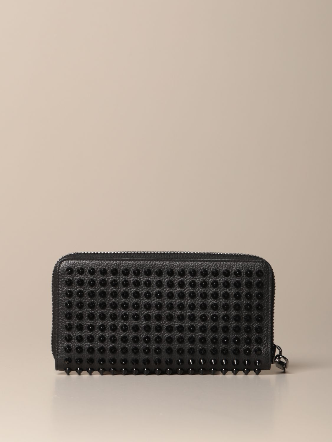 Wallet Christian Louboutin: Panettone Christian Louboutin wallet with all over studs black 3