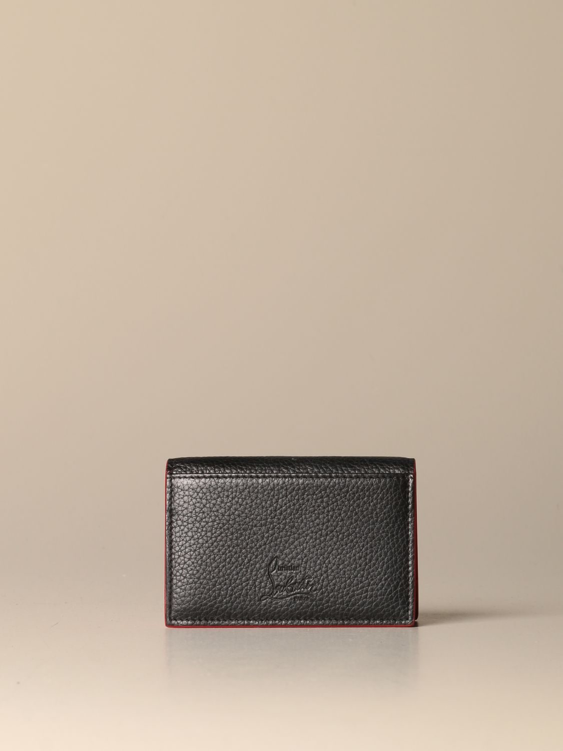 Wallet Christian Louboutin: Christian Louboutin Sfinos wallet with studs black 3