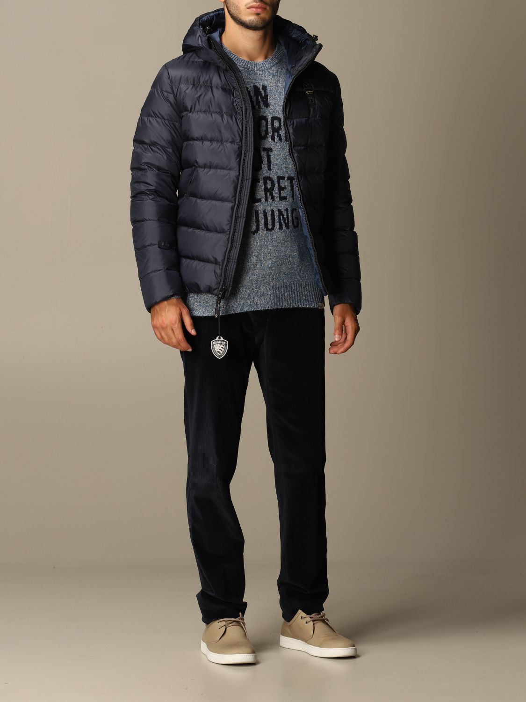 Jacke Blauer: Jacke herren Blauer blau 2