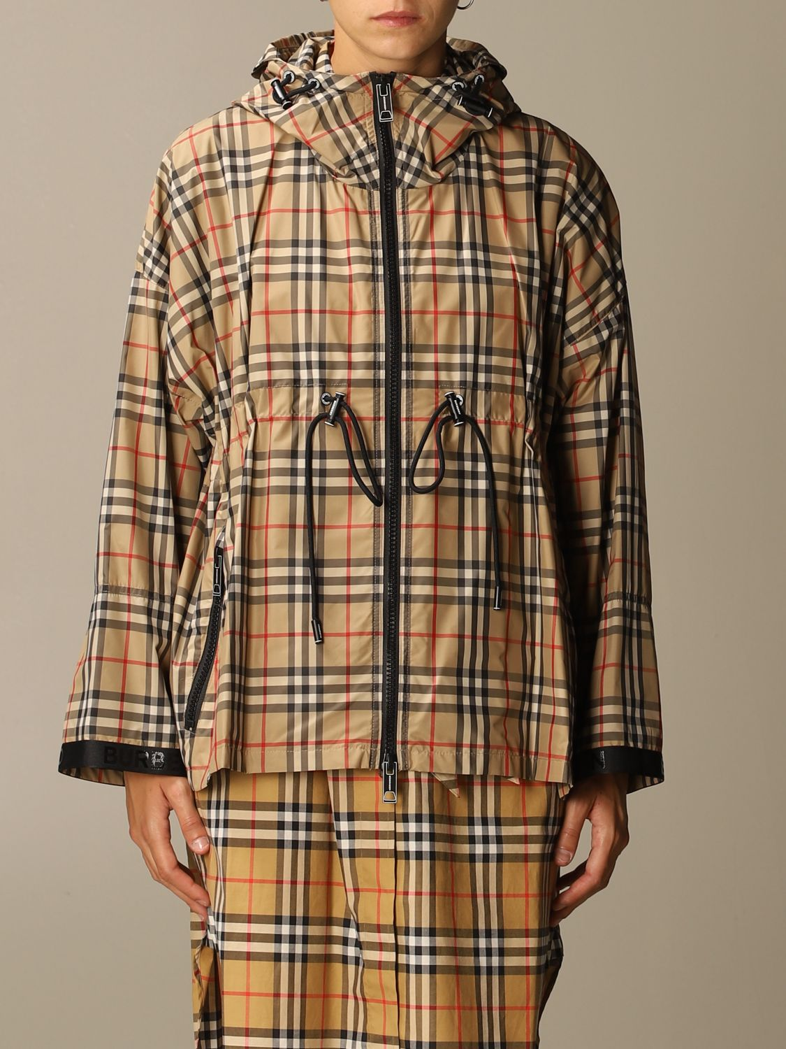 Jacket Burberry: Jacket women Burberry beige 1
