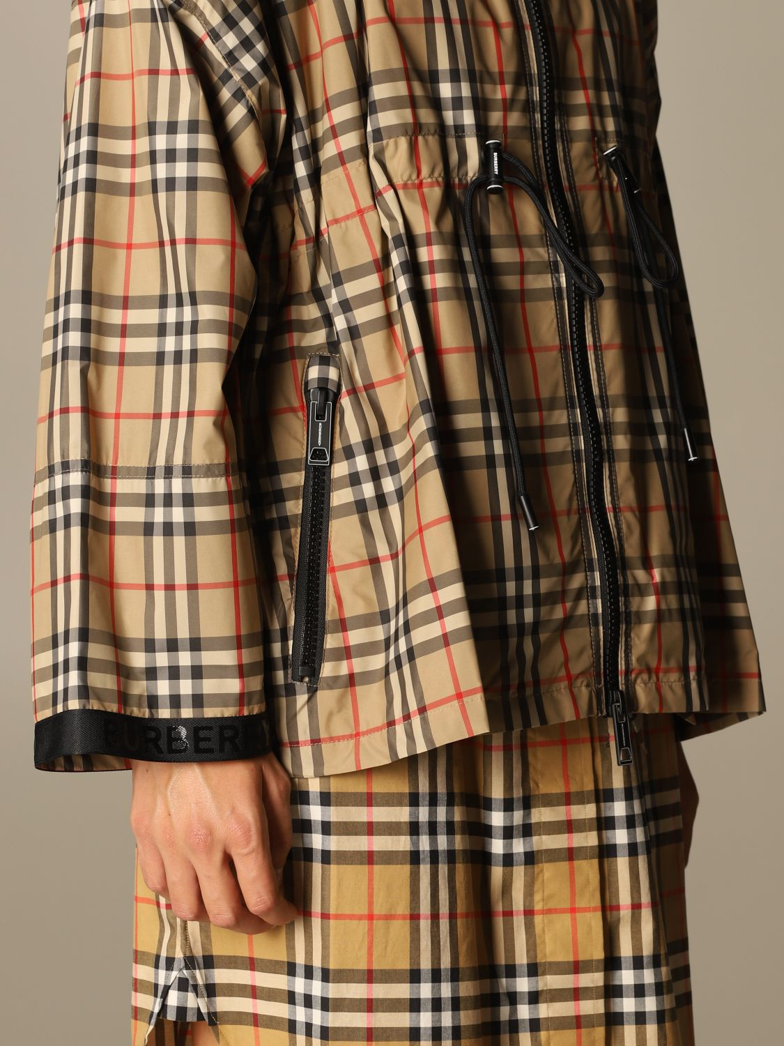 Jacket Burberry: Jacket women Burberry beige 4