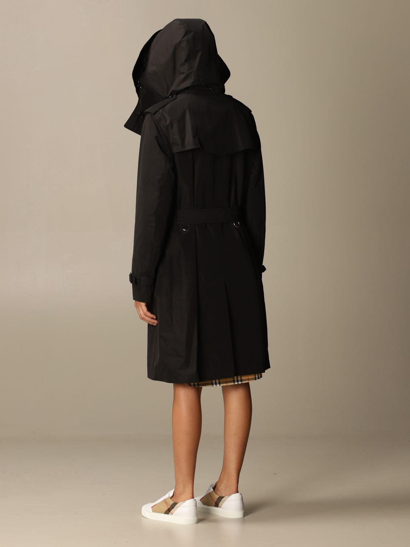 Coat Burberry: Coat women Burberry black 2
