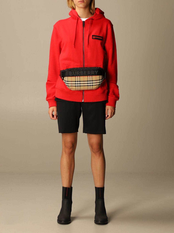 Sweatshirt Burberry: Sweatshirt women Burberry red 2