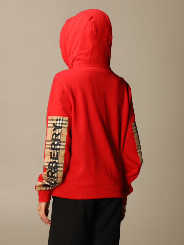 Sweatshirt Burberry: Sweatshirt women Burberry red 3