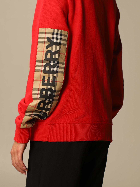 Sweatshirt Burberry: Sweatshirt women Burberry red 5