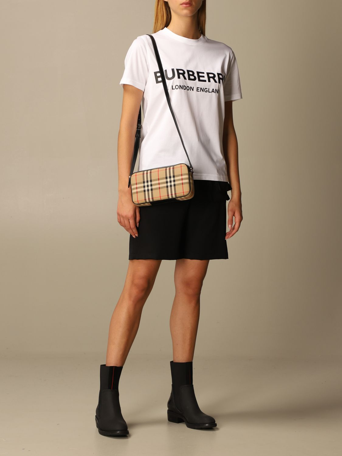 T-Shirt Burberry: T-shirt women Burberry white 2