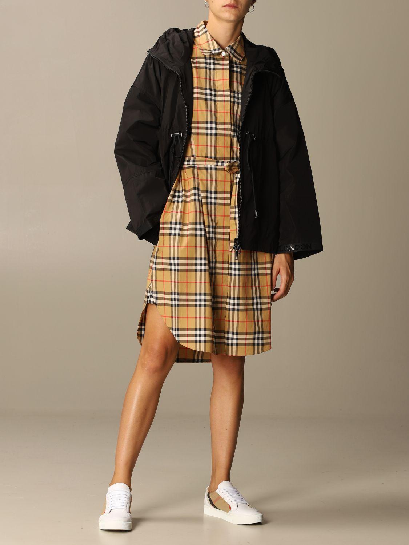 Платье Burberry: Платье Женское Burberry бежевый 2