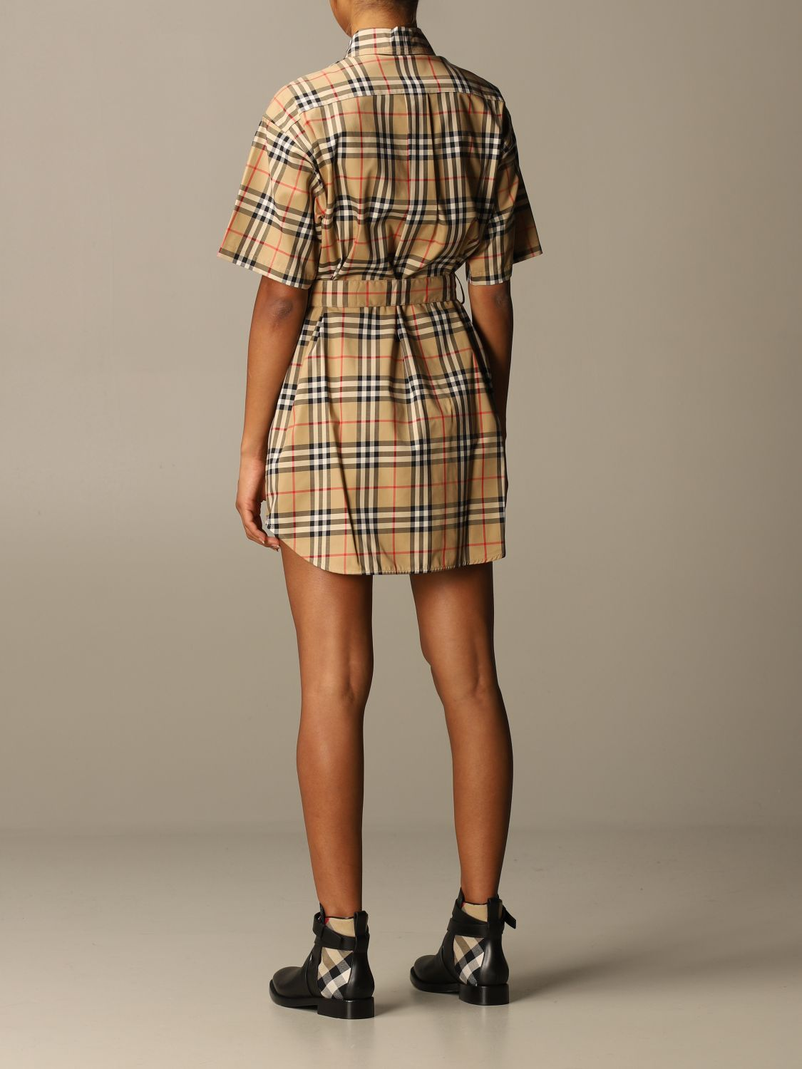 Dress Burberry: Dress women Burberry beige 3