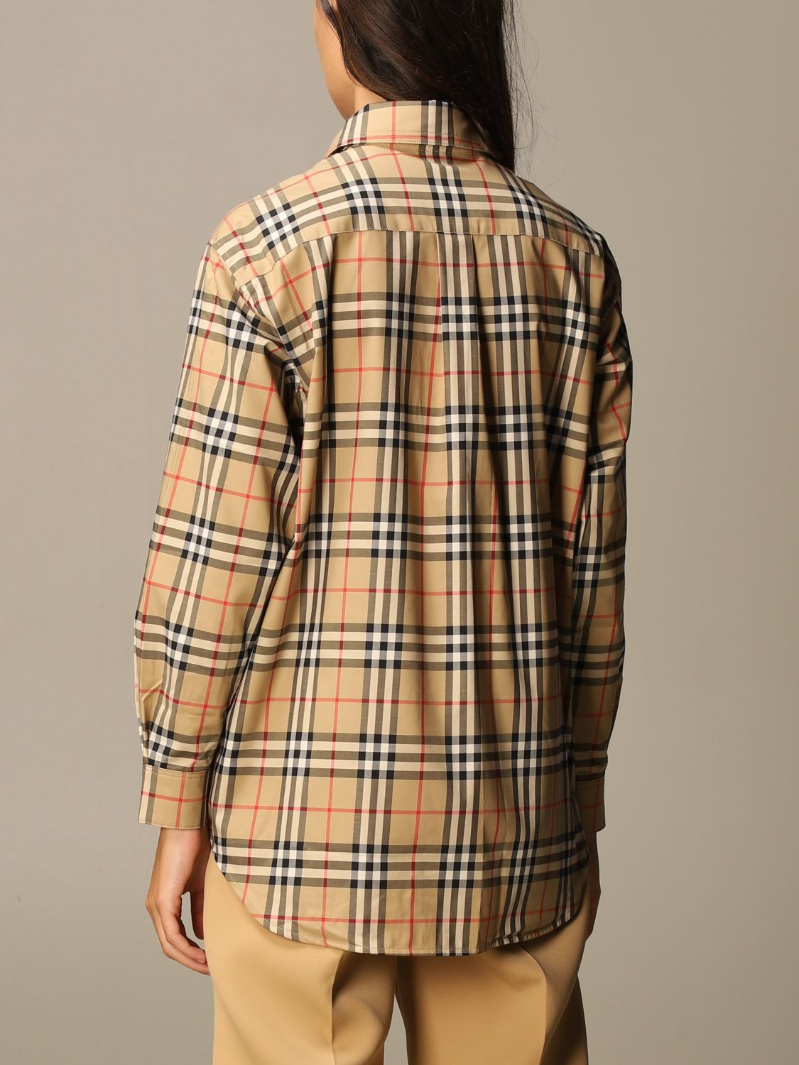 Shirt Burberry: Shirt women Burberry beige 2