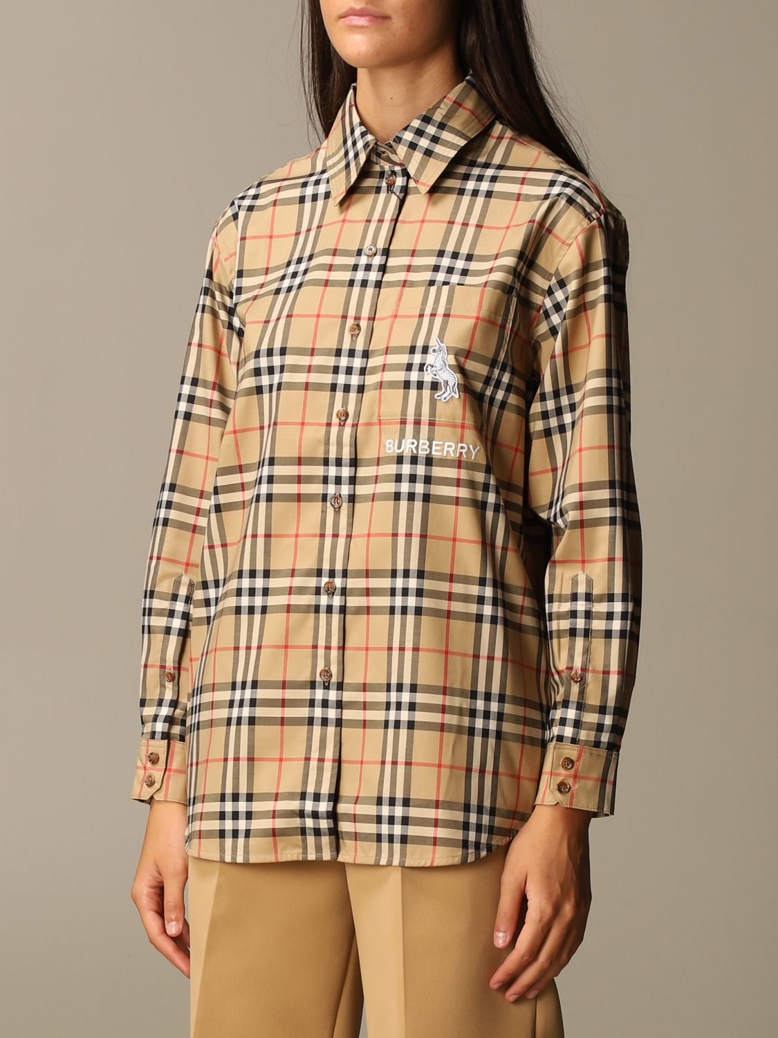 Shirt Burberry: Shirt women Burberry beige 3
