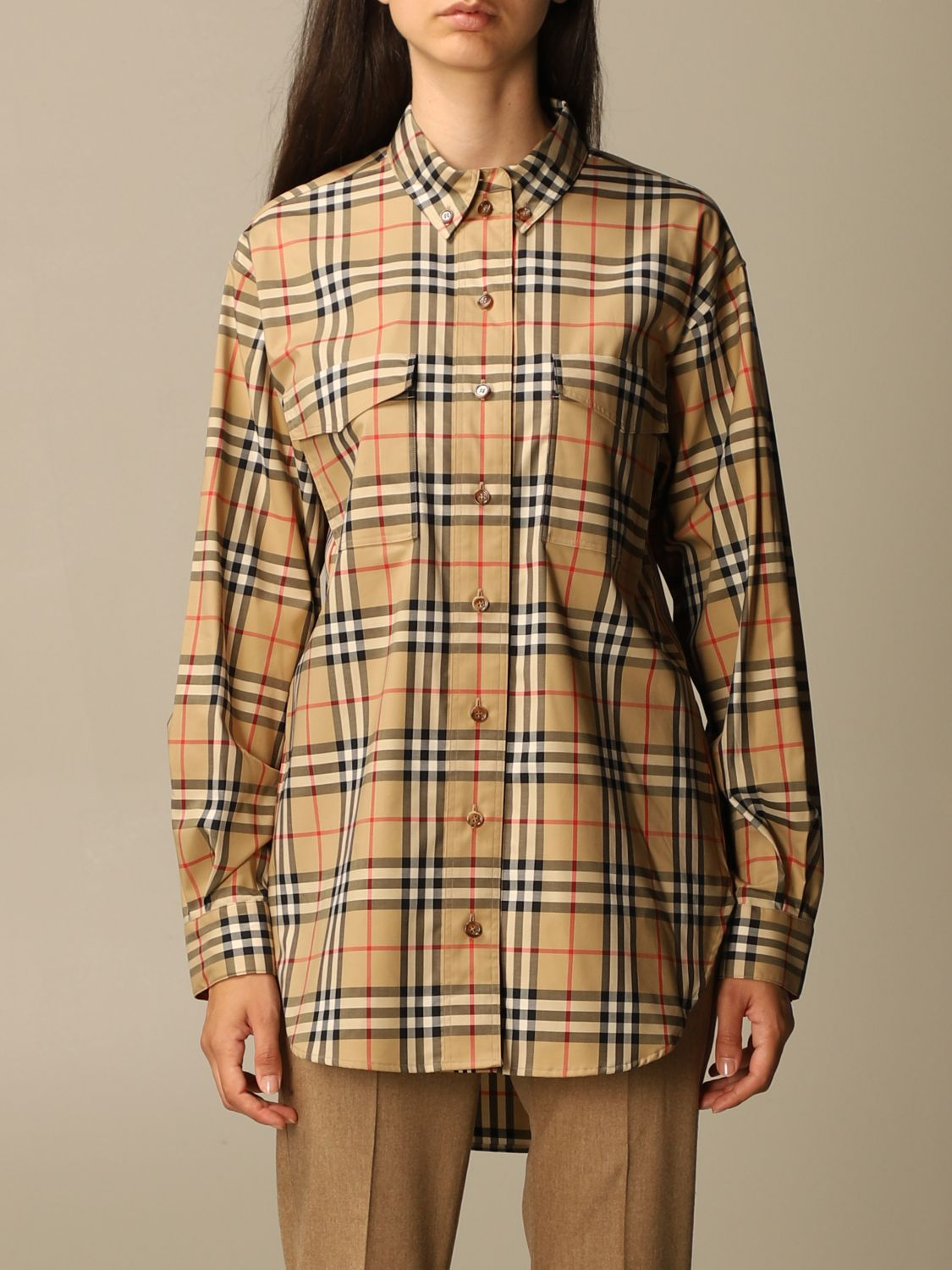 Shirt Burberry: Shirt women Burberry beige 1