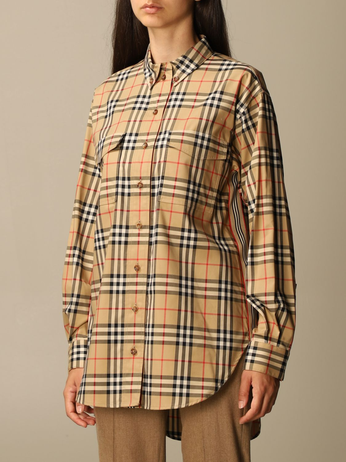 Shirt Burberry: Shirt women Burberry beige 4