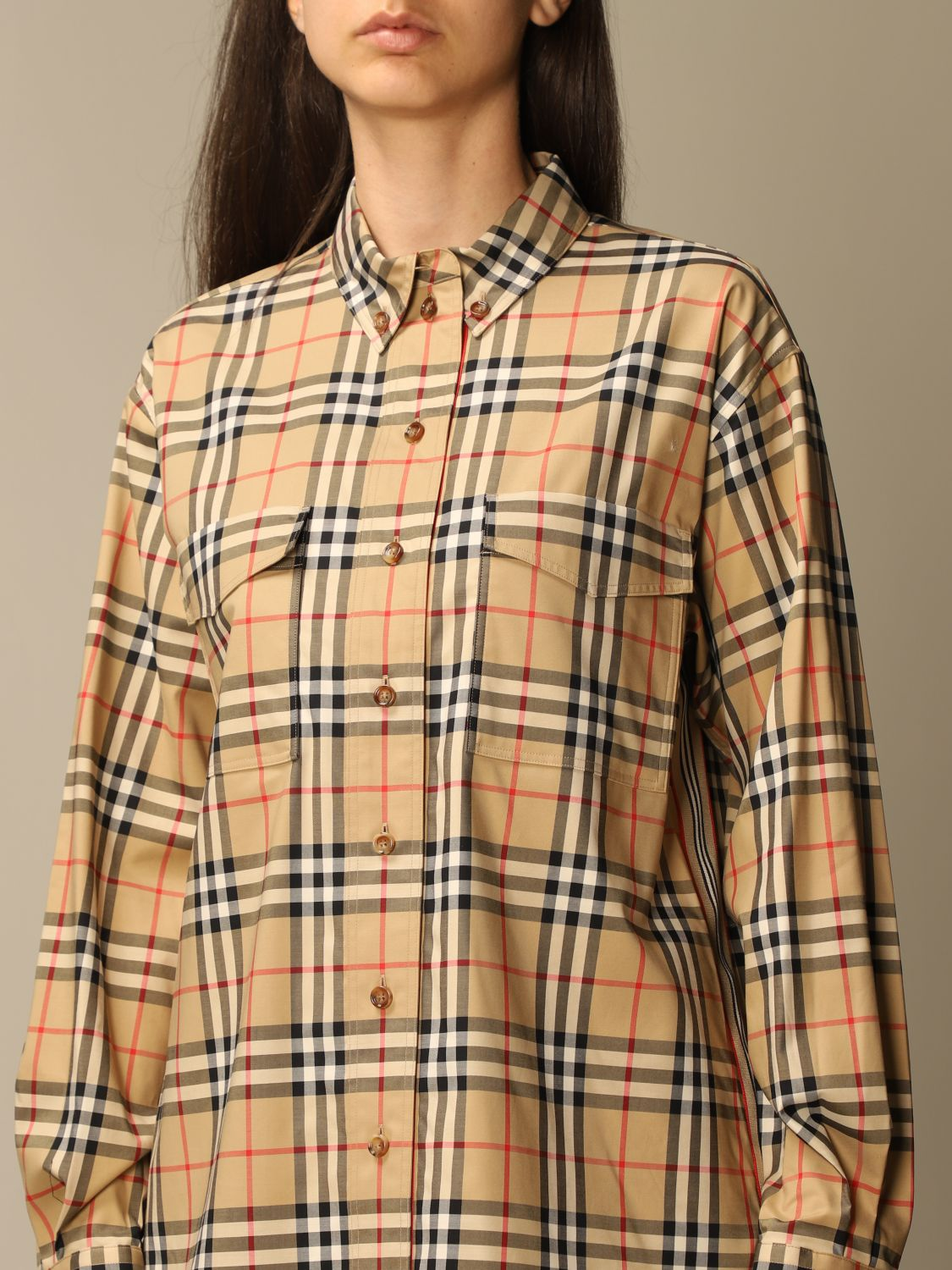 Shirt Burberry: Shirt women Burberry beige 5