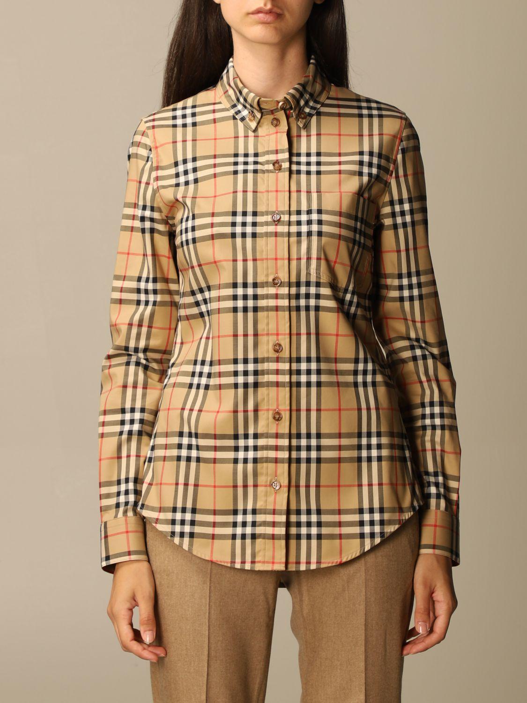 Shirt Burberry: Shirt women Burberry beige 1