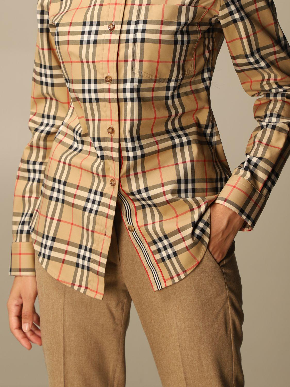 Shirt Burberry: Shirt women Burberry beige 5