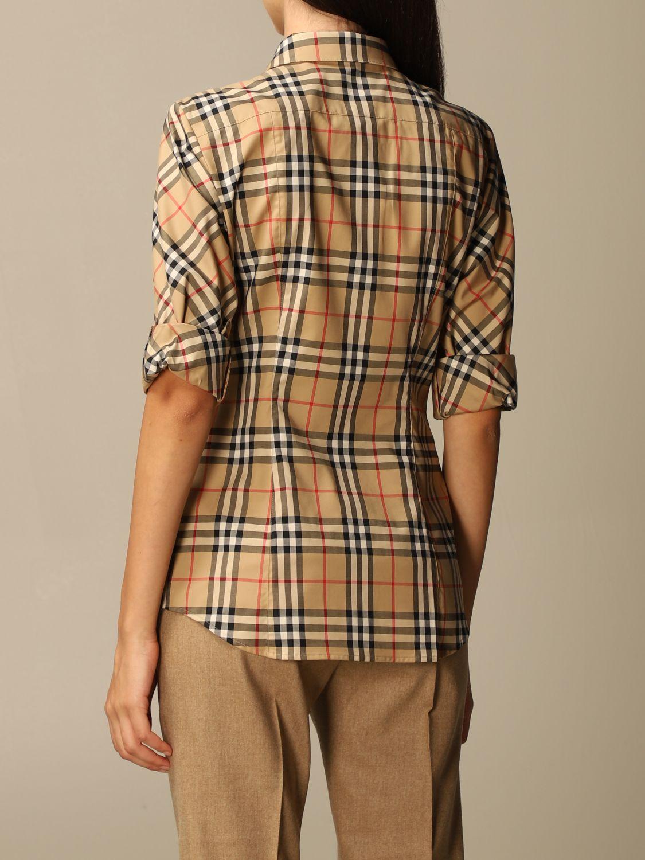 Shirt Burberry: Shirt women Burberry beige 3