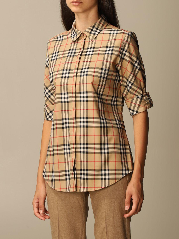 Shirt Burberry: Shirt women Burberry beige 4