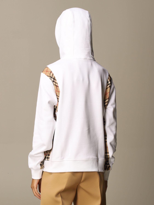 Sweatshirt Burberry: Sweatshirt women Burberry white 2