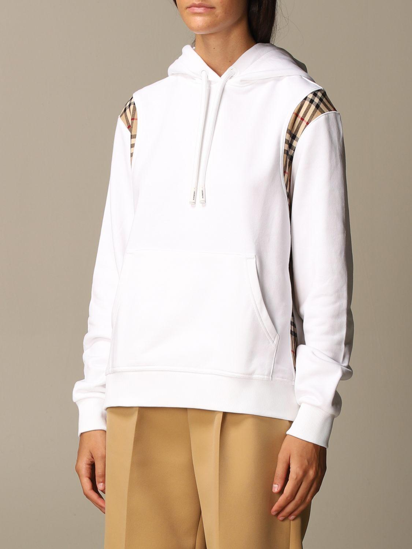 Sweatshirt Burberry: Sweatshirt women Burberry white 3