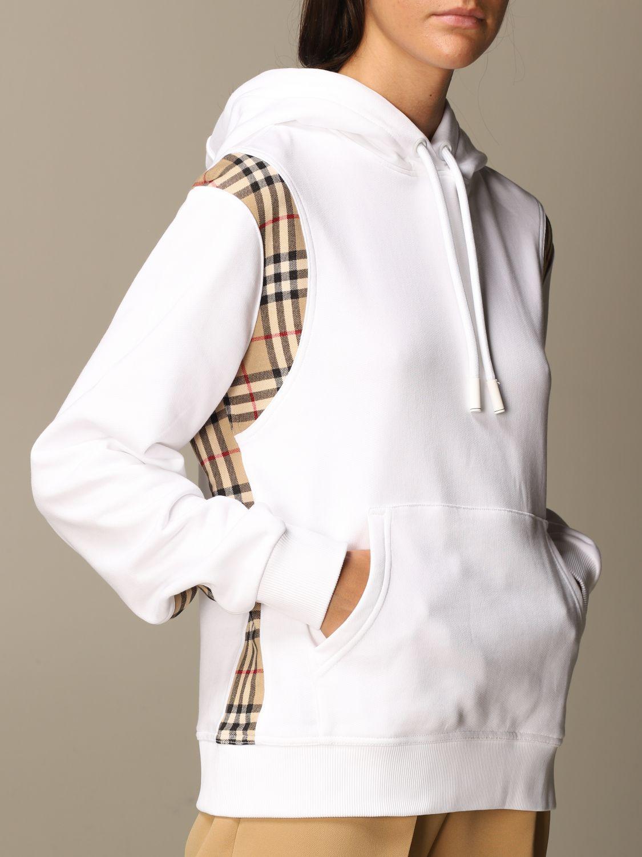 Sweatshirt Burberry: Sweatshirt women Burberry white 4