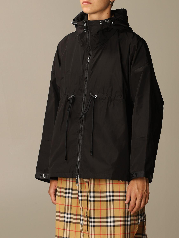 Jacket Burberry: Jacket women Burberry black 4