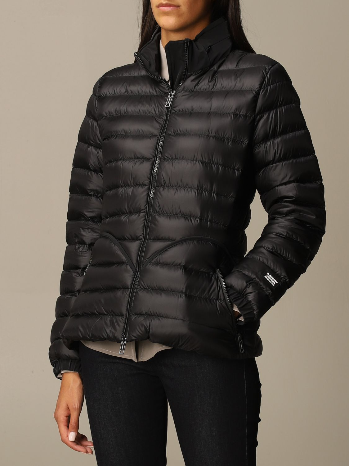 Jacket Burberry: Jacket women Burberry black 3