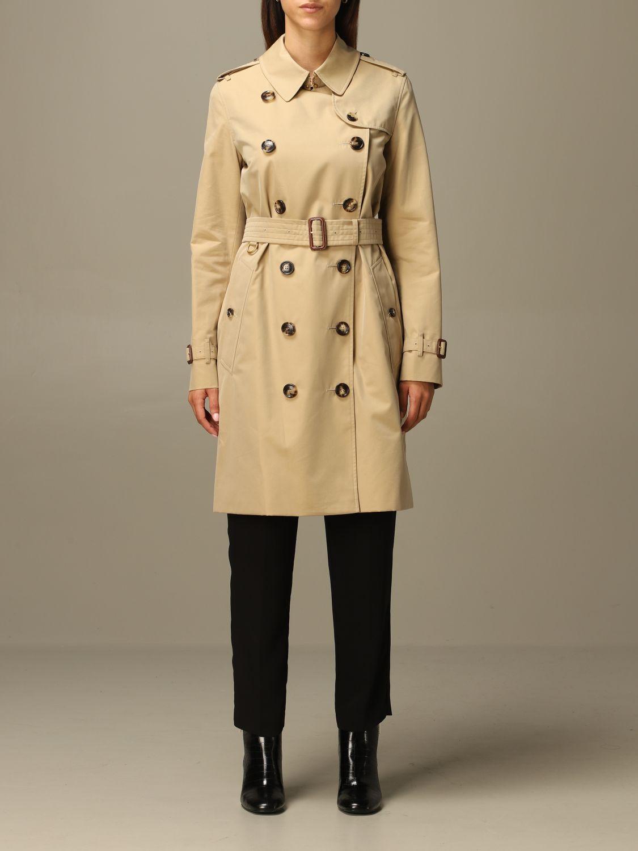 Coat Burberry: Coat women Burberry yellow 1