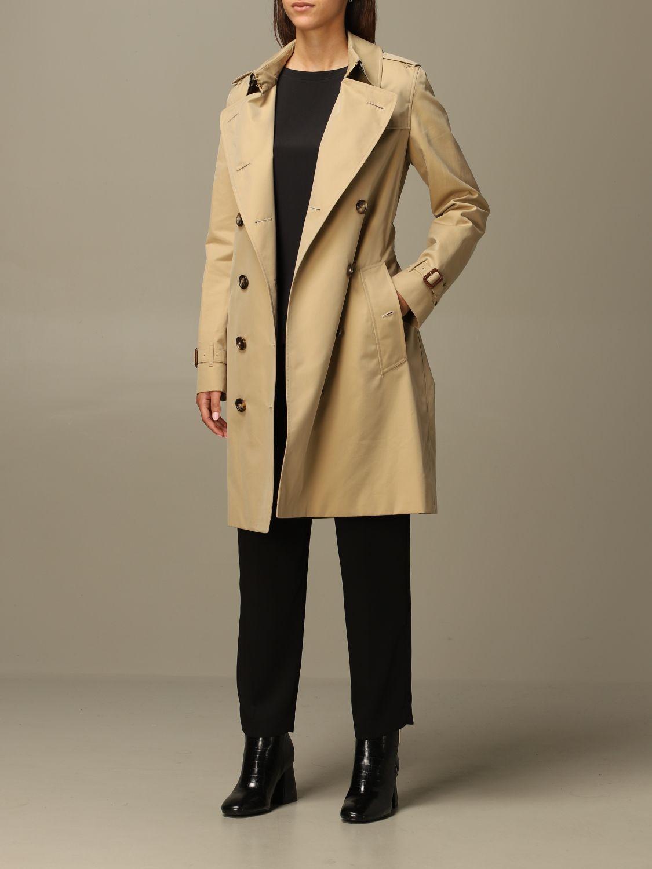 Coat Burberry: Coat women Burberry yellow 2