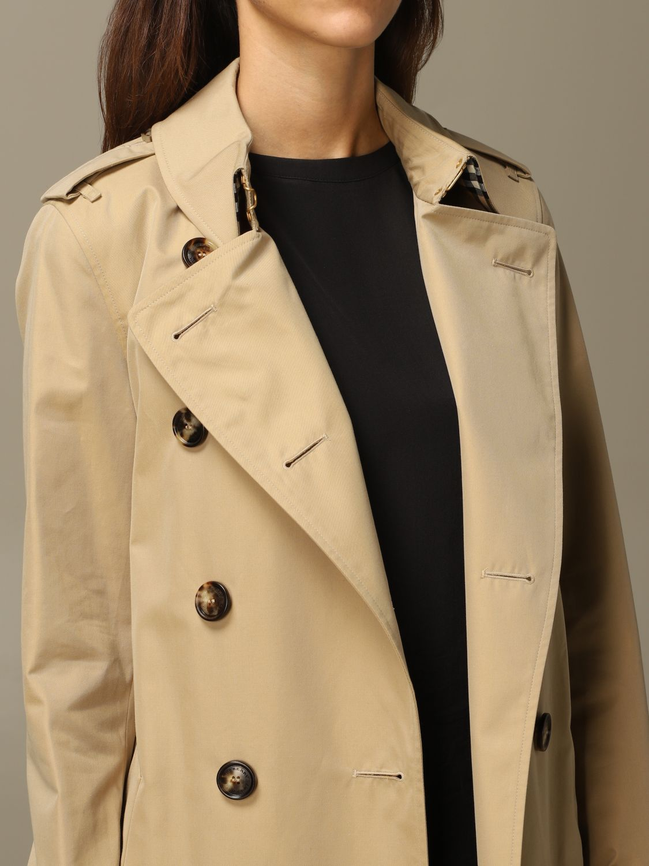 Coat Burberry: Coat women Burberry yellow 4