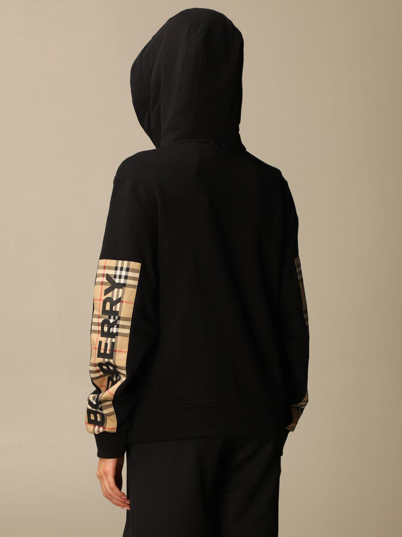 Sweatshirt Burberry: Sweatshirt women Burberry black 2