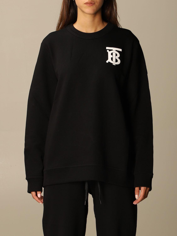Sweatshirt Burberry: Sweatshirt women Burberry black 1